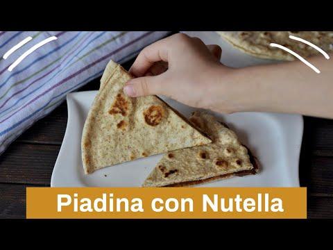 Piadina con Nutella