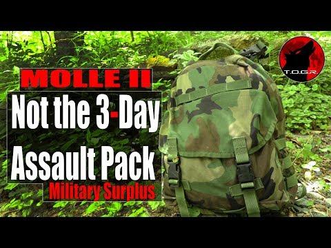 The Rareish MOLLE II Patrol Pack - Military Surplus!