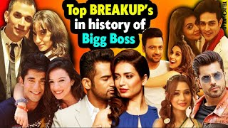 From season one to season 13; here's the top BREAKUP's in the history of Bigg Boss | Checkout NOW! - TELLYCHAKKAR