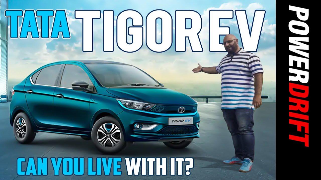 टाटा टिगॉर ईवी | पहला drive रिव्यू | can you live with it? | powerdrift