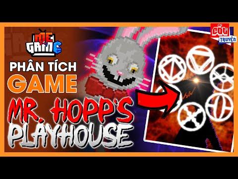 Phân Tích Game: Mr. Hopp's Playhouse 1 & 2 - Giải Thích Bí Ẩn Cốt Truyện   meGAME