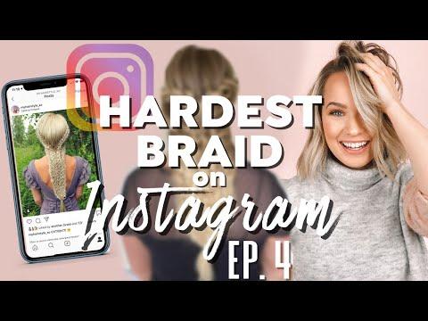 I Tried the ACTUAL HARDEST braid on Instagram…. Ep. 4 – Kayley Melissa