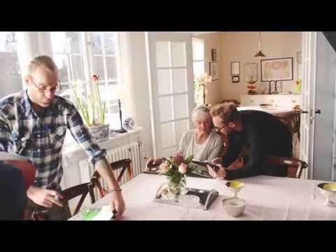 Under inspelningen av vår film om testamente