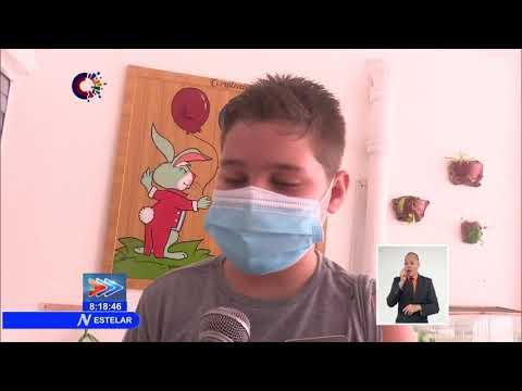 Cuba: Finaliza proceso inicial de inmunicazión en edades pediátricas de 2-18 años en Cienfuegos