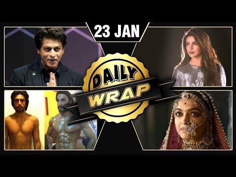 Padmaavat BAN, ShahRukh's Emotional Speech, Priyanka's Oscar Announcement Grab Headlines| Daily Wrap