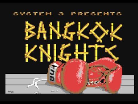 RETROJuegos Clásico - Bangkok Knights © 1988 System 3 - Commodore 64 #RETROJuegos byFabio