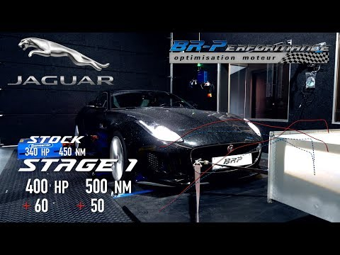 Jaguar F-Type 3.0 V6 Stage 1 By BR-Performance
