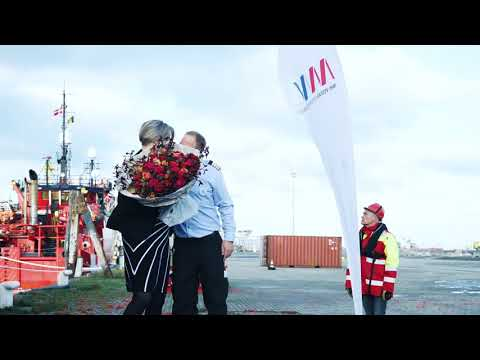 'Esvagt Mercator' Naming Ceremony