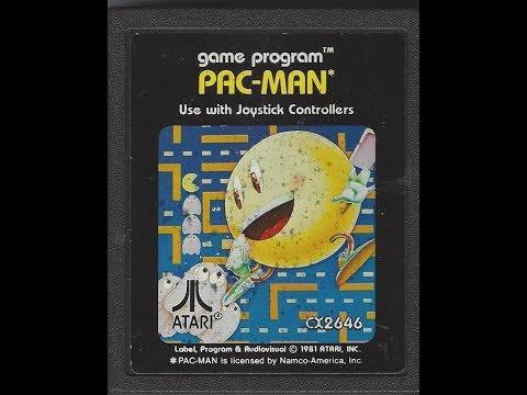 RETROJUEGOS REMEMBER #023: Pac Man (ATARI 2600)