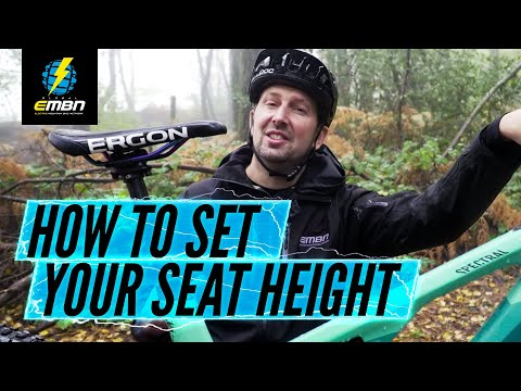 How To Get The Most Out Of Your Saddle Height On Your Electric Mountain Bike