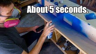 How long do you REALLY need to shake spray paint?