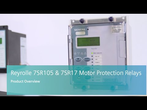 Reyrolle - 7SR105 and 7SR17 - Motor Protection Relays