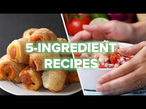 5 Recipes Using ONLY 5 Ingredients ? Tasty Recipes