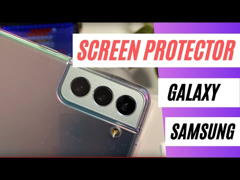The worst screen protectors for Samsung Galaxy S21 / S21 Plus?