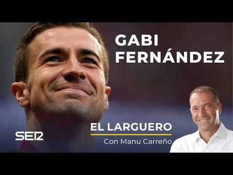 """Entrevista a Gabi en El Larguero: """"No fui una opción para sustituir al Mono Burgos"""" [30/11/2020]"""