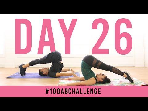 Day 26: 100 Rollovers!   #100AbChallenge w/ Brett Hoebel