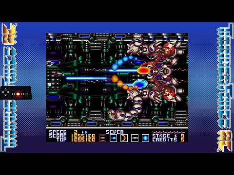 SEGA AGES Thunder Force AC (Switch) - ¡Completo y comentado! Análisis (Styx + Rynex) 1cc