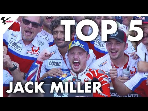 Jack Miller's Top 5 Moments from 2019