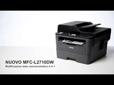 Brother MFC-L2710DW - Stampante multifunzione laser monocromatica con WiFi