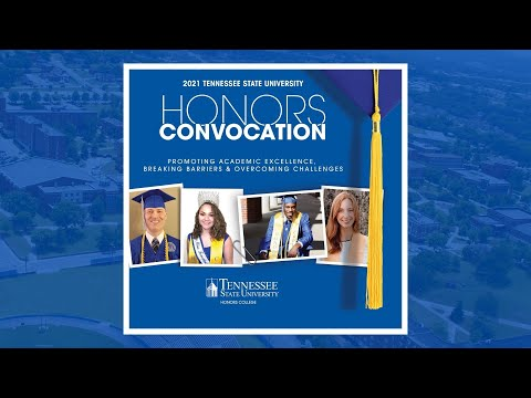 2021 Tennessee State University Honors Convocation