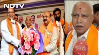 Enter Basavaraj Bommai As Chief Minister, BS Yediyruappa Approves - NDTV