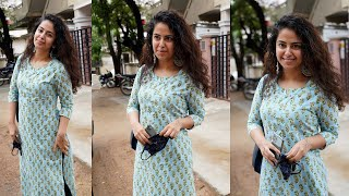Actress Avika gor spotted at Hyderabad | Celebrities At Hyd | TFPC - TFPC
