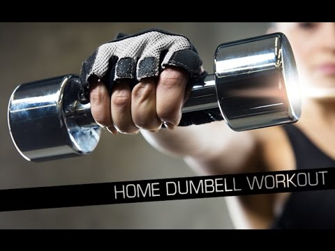 Home Dumbbell Workout for Women (SIMPLE & EFFECTIVE!!)