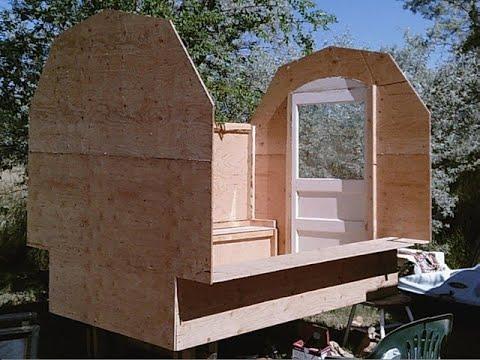Shepherd Wagon Vardo Build: Walls, Door and Wood Stove