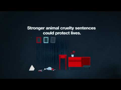 Stronger animal cruelty sentences could protect lives. #NotFunny