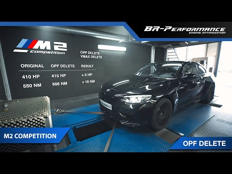 BMW M2 Competition / OPF & VMAX DELETE By BR-Performance