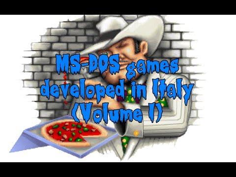 MS-DOS Games Developed in Italy (Volume I)