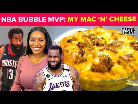 How I Made The Famous NBA Bubble Buffalo Mac N' Cheese ? Tasty