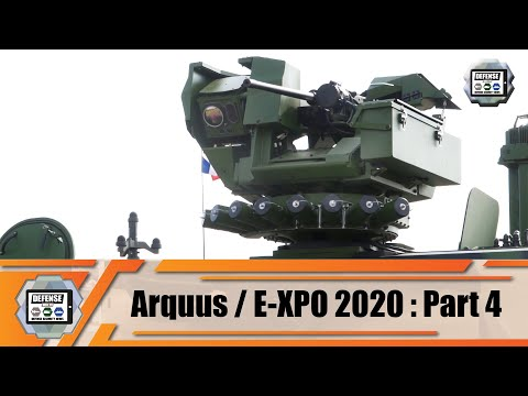 Hornet Lite S RWS technical review Remote Controlled Weapon Station family ARQUUS E-XPO France