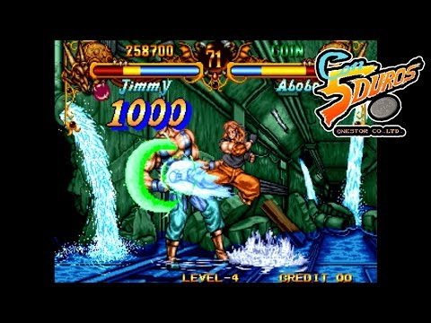 "DOUBLE DRAGON NEOGEO (JIMMY)  - ""CON 5 DUROS"" Episodio 698 (+Double Dragon Advance - GBA) (1cc)"