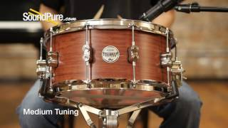 PDP 6 5x14 Limited Edition Bubinga Maple Snare Quick n' Dirty