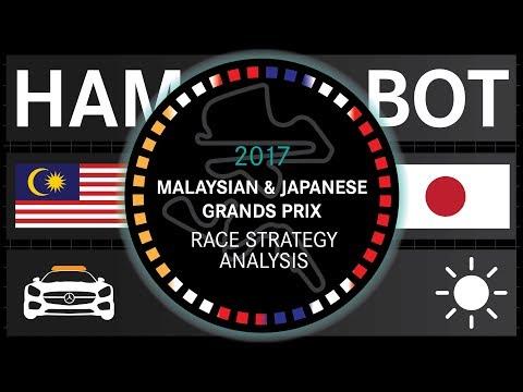 2017 Malaysian & Japanese Grands Prix Strategy Analysis