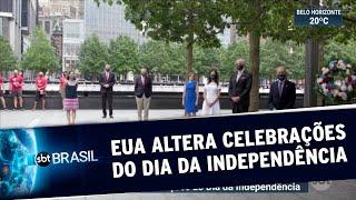 Pandemia altera celebrações do Dia da Independência dos Estados Unidos | SBT Brasil (04/07/20)