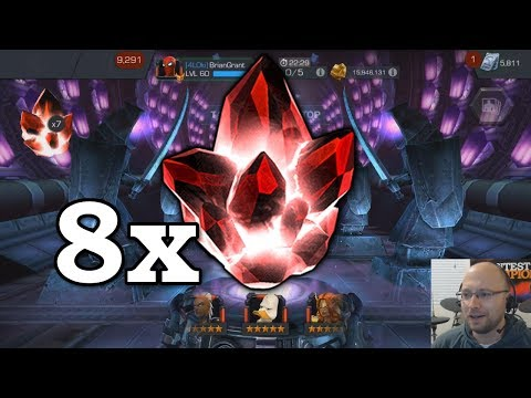 connectYoutube - 80,000 5-Star Shards - Crystal Opening   Marvel Contest of Champions