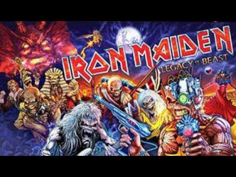 Iron Maiden Legacy of the Beast. Stern Pinball