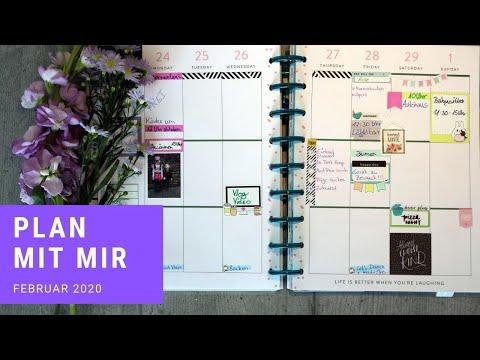 Kalender Planung   Happy Planner   gabelschereblog