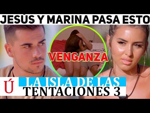 ¡Qué fuerte! La reacción de Jesús a la infidelidad de Marina: se lía con… La isla de las tentaciones