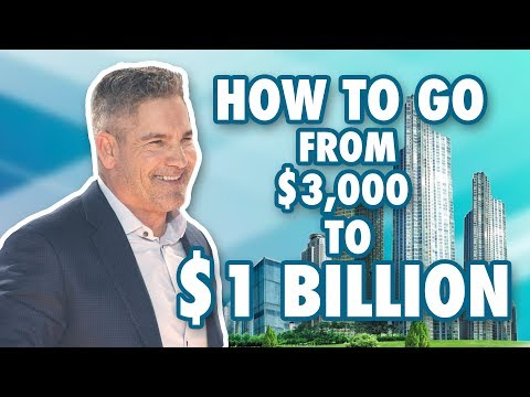 How to Go from $3,000 to $1 Billion - Grant Cardone photo