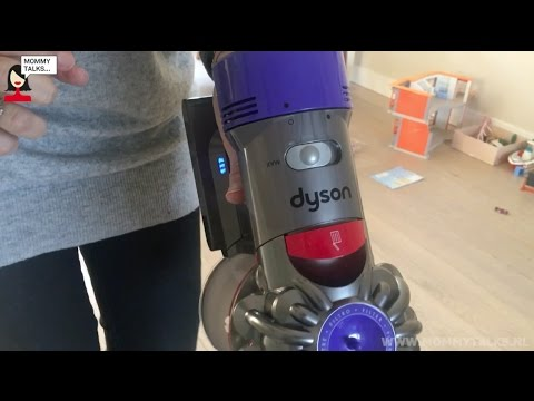 Review video Dyson V8 Absolute steelstofzuiger