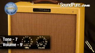 Victoria Amps Ivy League 14-watt Combo Amp Demo