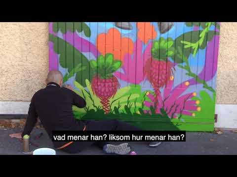 Nytt verk till vårt utomhusgalleri - Intervju med konstnären Rein