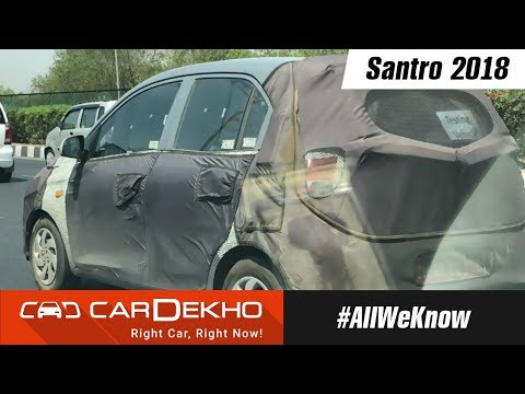 Upcoming New Hyundai Santro 2018 Spotted | #AllWeKnow
