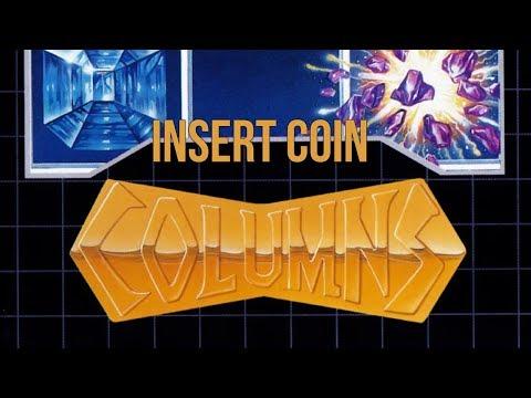 Columns (1990) - Mega Drive - Arcade, Flash & Original Modes
