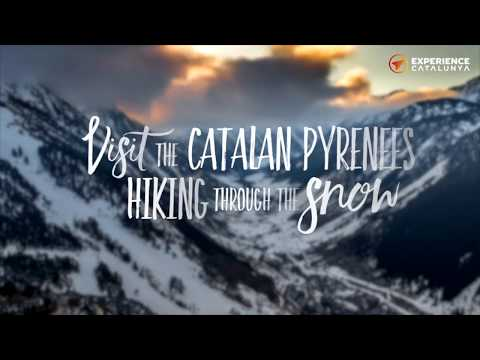 Visit the catalan Pyrenees hiking through the snow