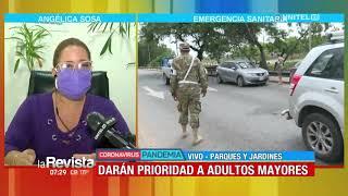 Entrevista a la alcaldesa interina de Santa Cruz, Angélica Sosa