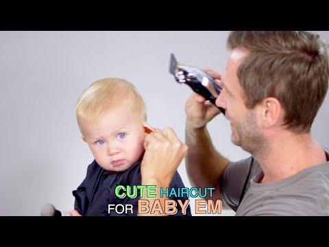 Cute Haircut for Baby Emorett!